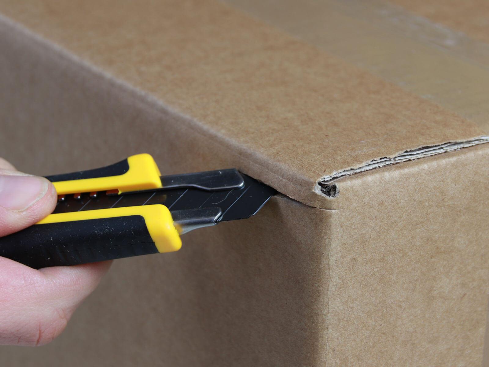 C064 Cuttermesser Karton schneiden abdeckeln CURT-tools