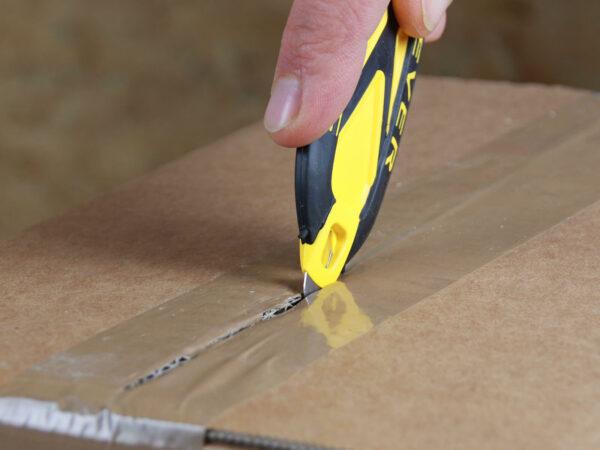 H031G Sicherheitsmesser Schutzhaken Klebeband schneiden Klebebandritzer CURT-tools