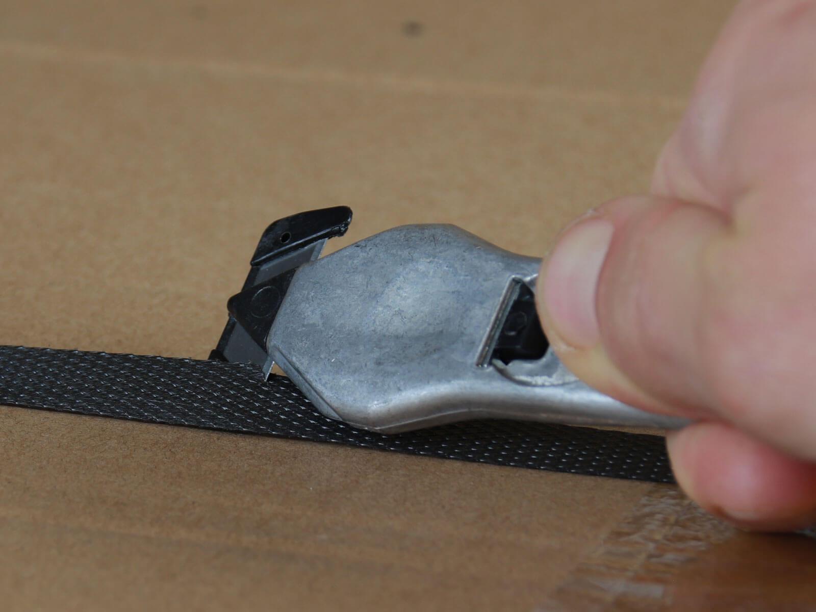 H031P Sicherheitsmesser Schutzhaken metall Umreifungsband schneiden CURT-tools