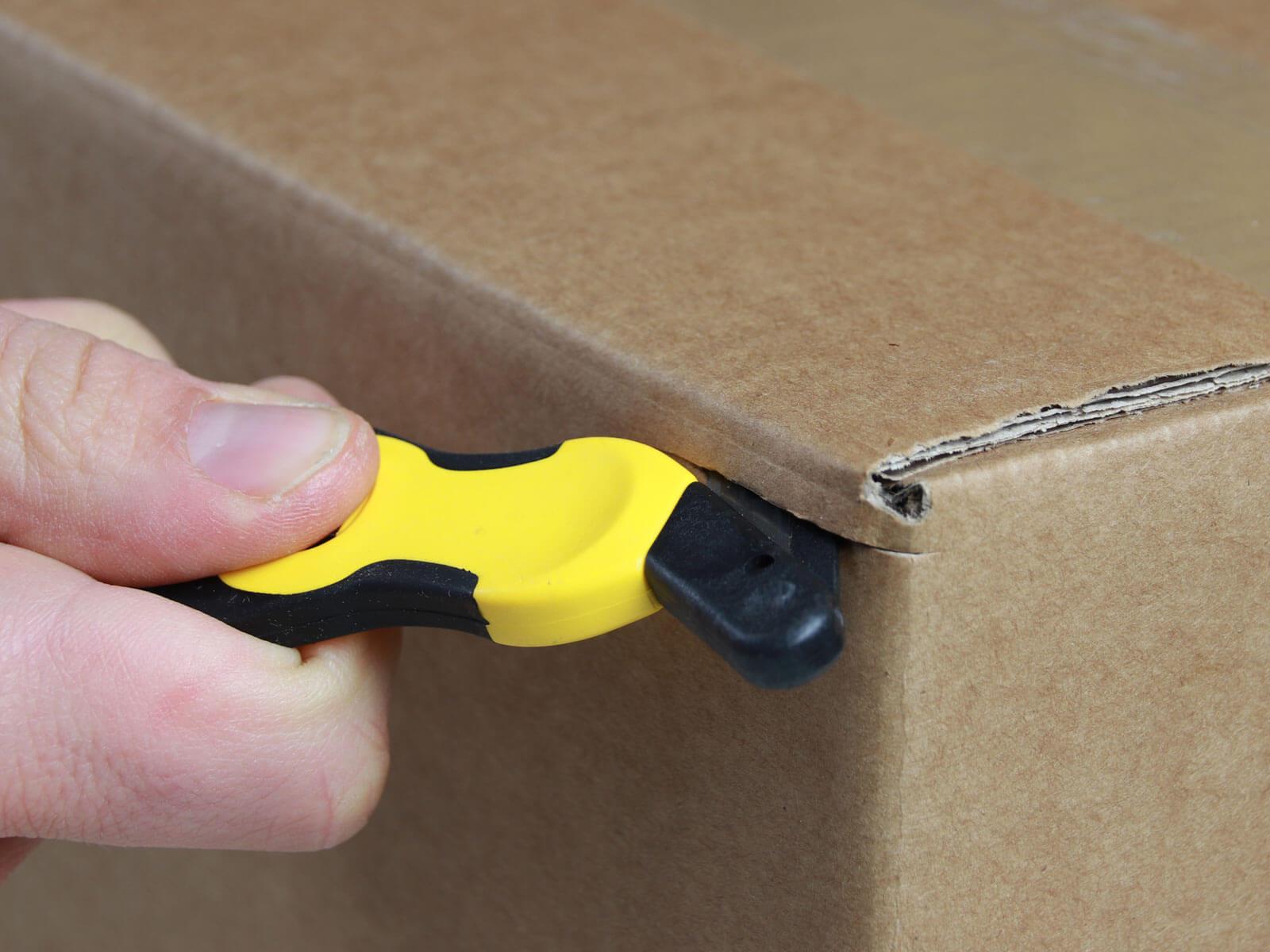 H032G Sicherheitsmesser Schutzhaken Karton schneiden abdeckeln CURT-tools