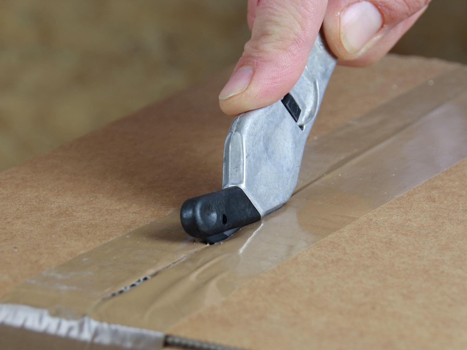 H032P Sicherheitsmesser Schutzhaken metall Klebeband schneiden CURT-tools