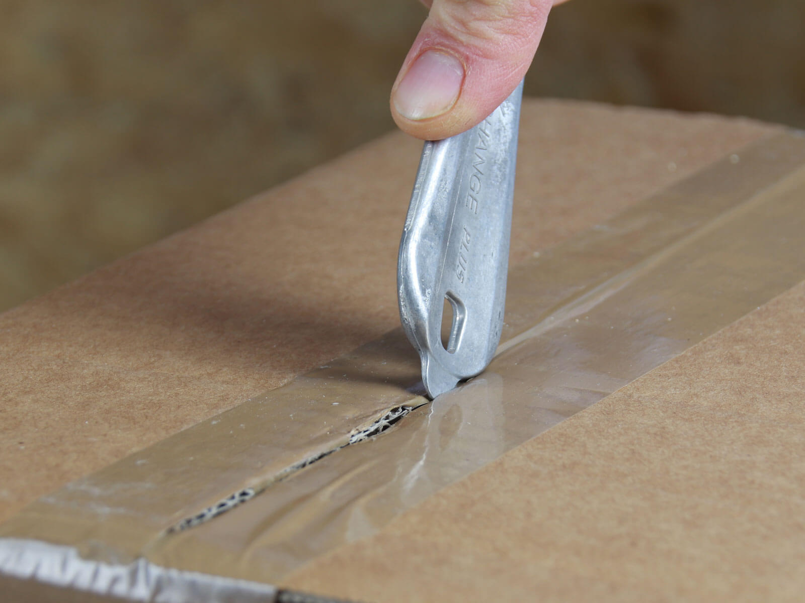 H032P Sicherheitsmesser Schutzhaken metall Klebeband schneiden Klebebandritzer CURT-tools