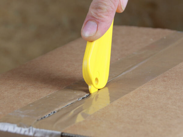H033G Sicherheitsmesser Schutzhaken Klebeband schneiden Klebebandritzer CURT-tools