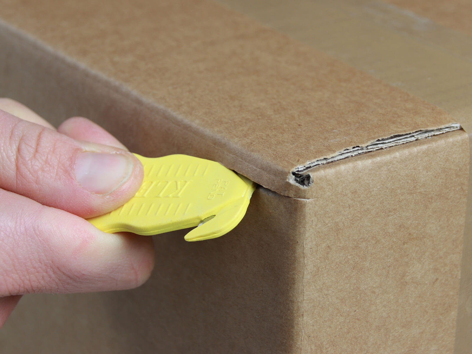 H035G Sicherheitsmesser Schutzhaken mini Karton schneiden abdeckeln CURT-tools