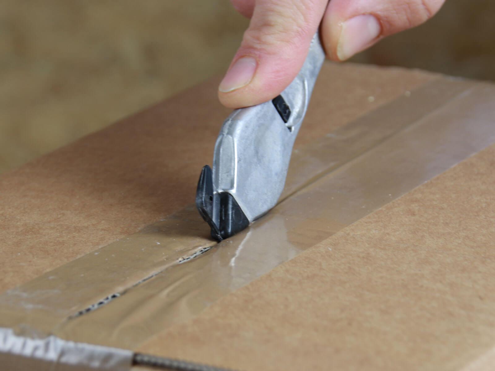 H03P Sicherheitsmesser Schutzhaken metall Klebeband schneiden CURT-tools