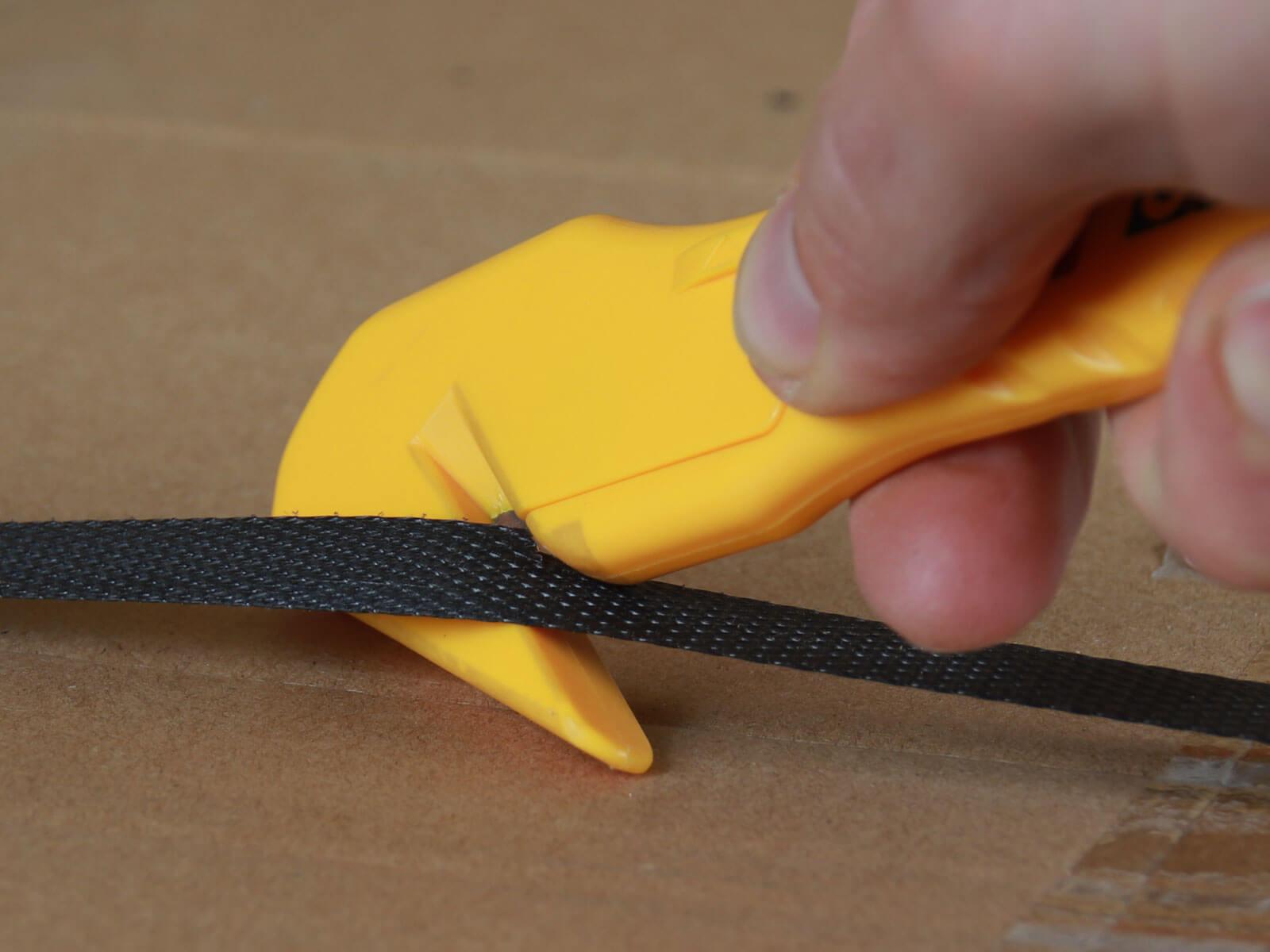 H041Sicherheitsmesser Schutzhaken Folienmesser Umreifungsband schneiden CURT-tools