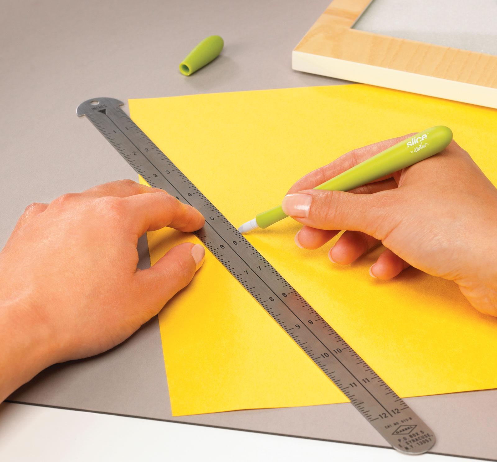 Skalpell-Keramik-Bestelmesser-Präzisionsschneider-Slice-Schneidlineal-CURT-tools