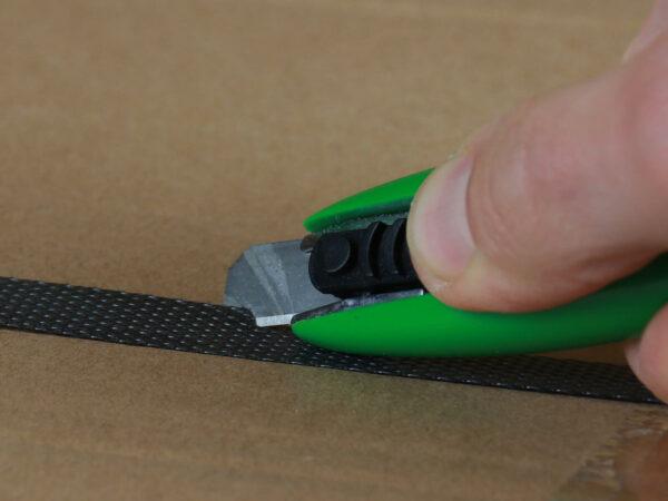 U003 Sicherheitsmesser automatischer Klingenrückzug Basic mini Umreifungsband schneiden CURT-tools