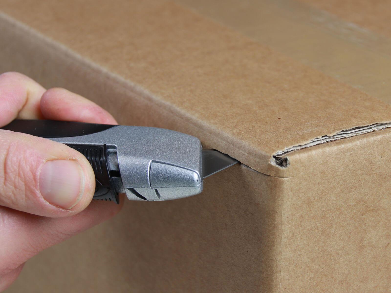 U004 Sicherheitsmesser vollautomatischer Klingenrückzug Karton-schneiden abdeckeln CURT-tools
