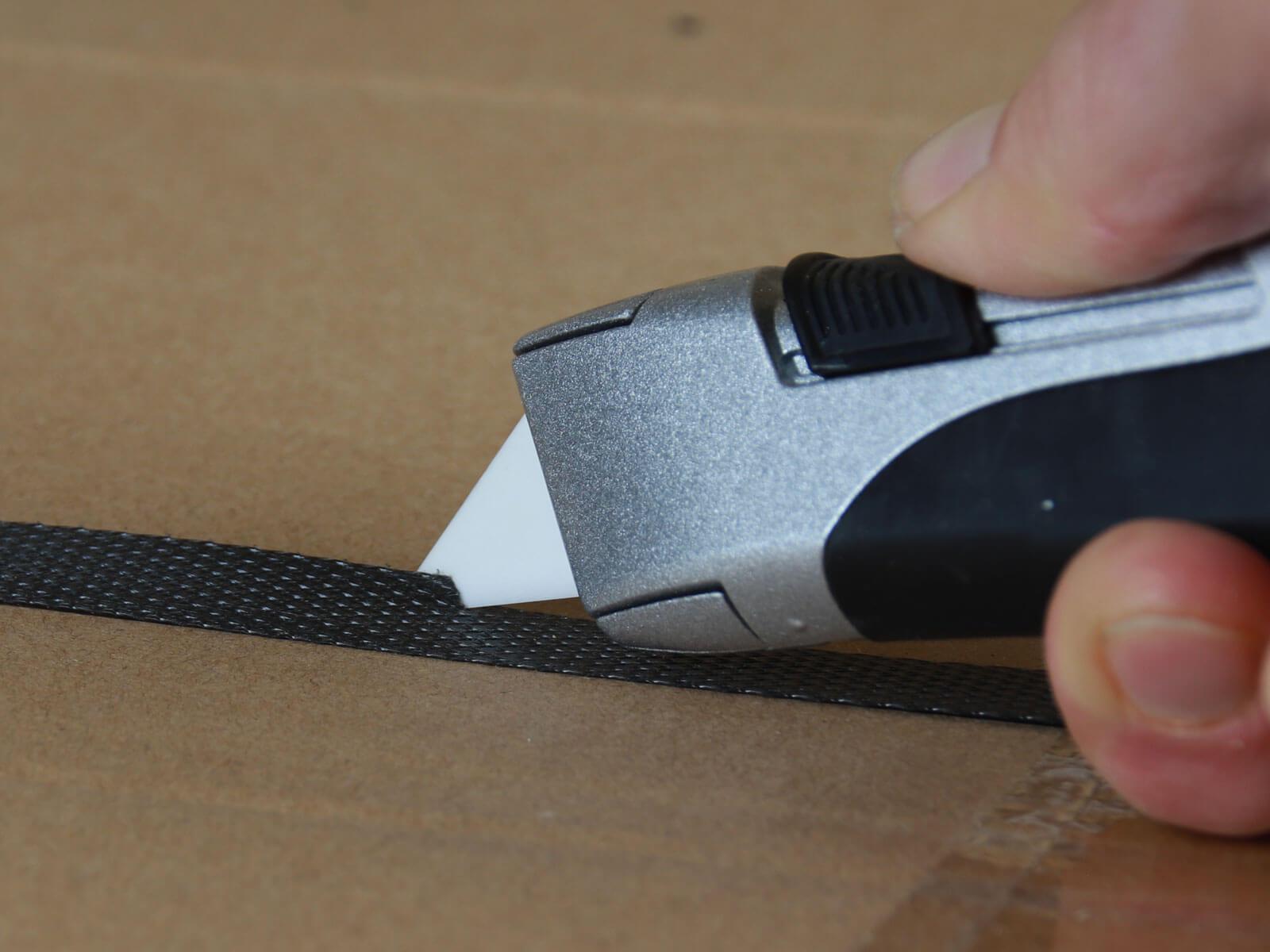 U004K Keramik Sicherheitsmesser vollautomatischer Klingenrückzug Umreifungsband schneiden CURT-tools