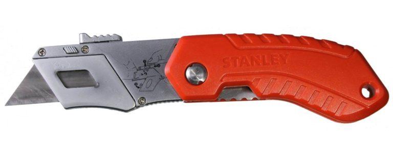 U005 Sicherheitsmesser Teppichmesser Komfort Stanley-Profi- klapp-423 CURT-tools