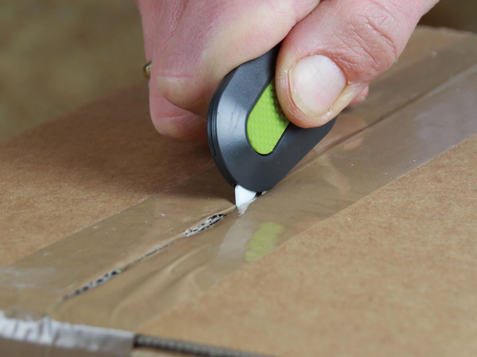 U007 Keramik Sicherheitsmesser automatischer Klingenrückzug mini Klebeband schneiden CURT-tools