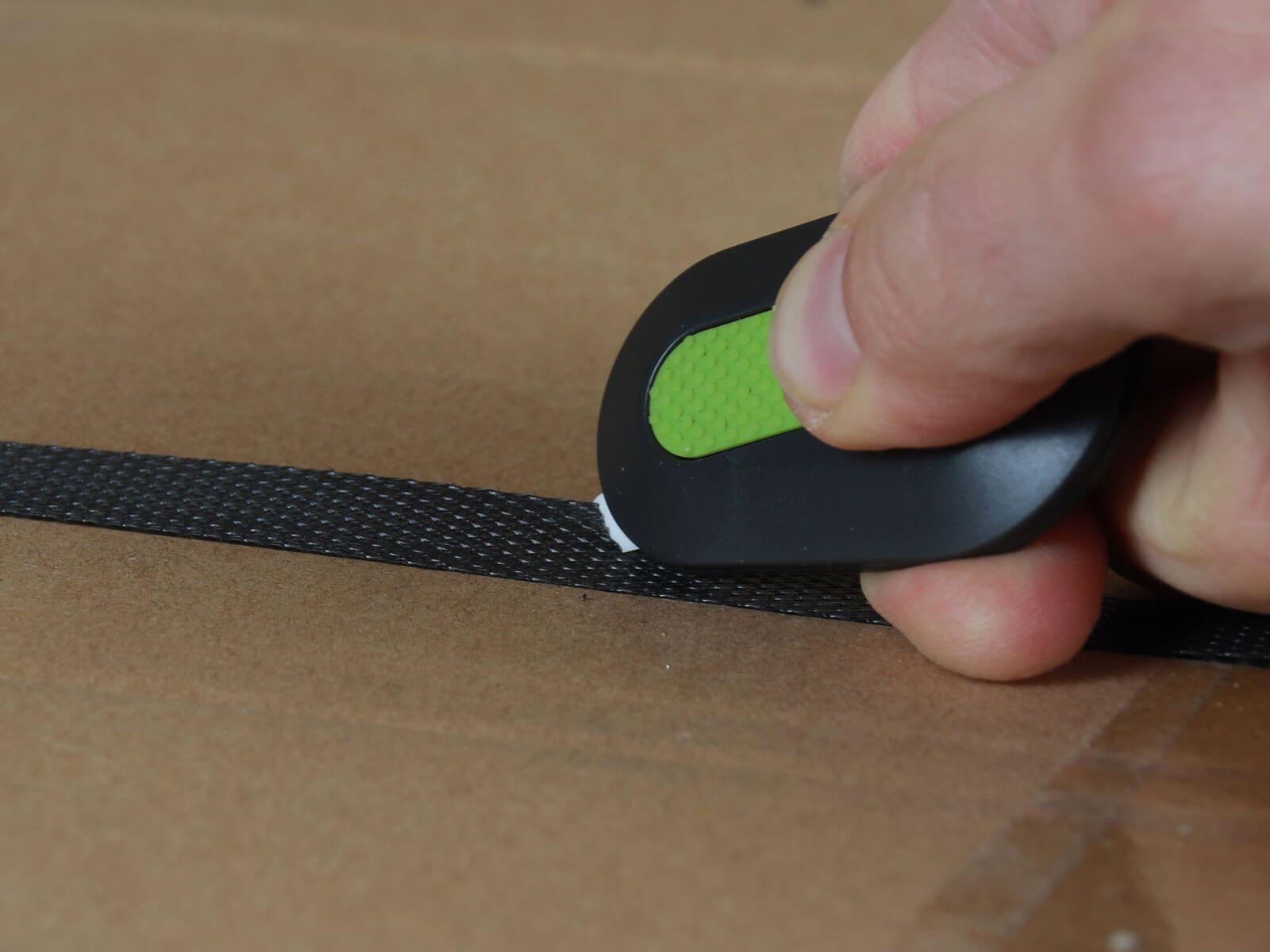 U007 Keramik Sicherheitsmesser automatischer Klingenrückzug mini Umreifungsband schneiden CURT-tools