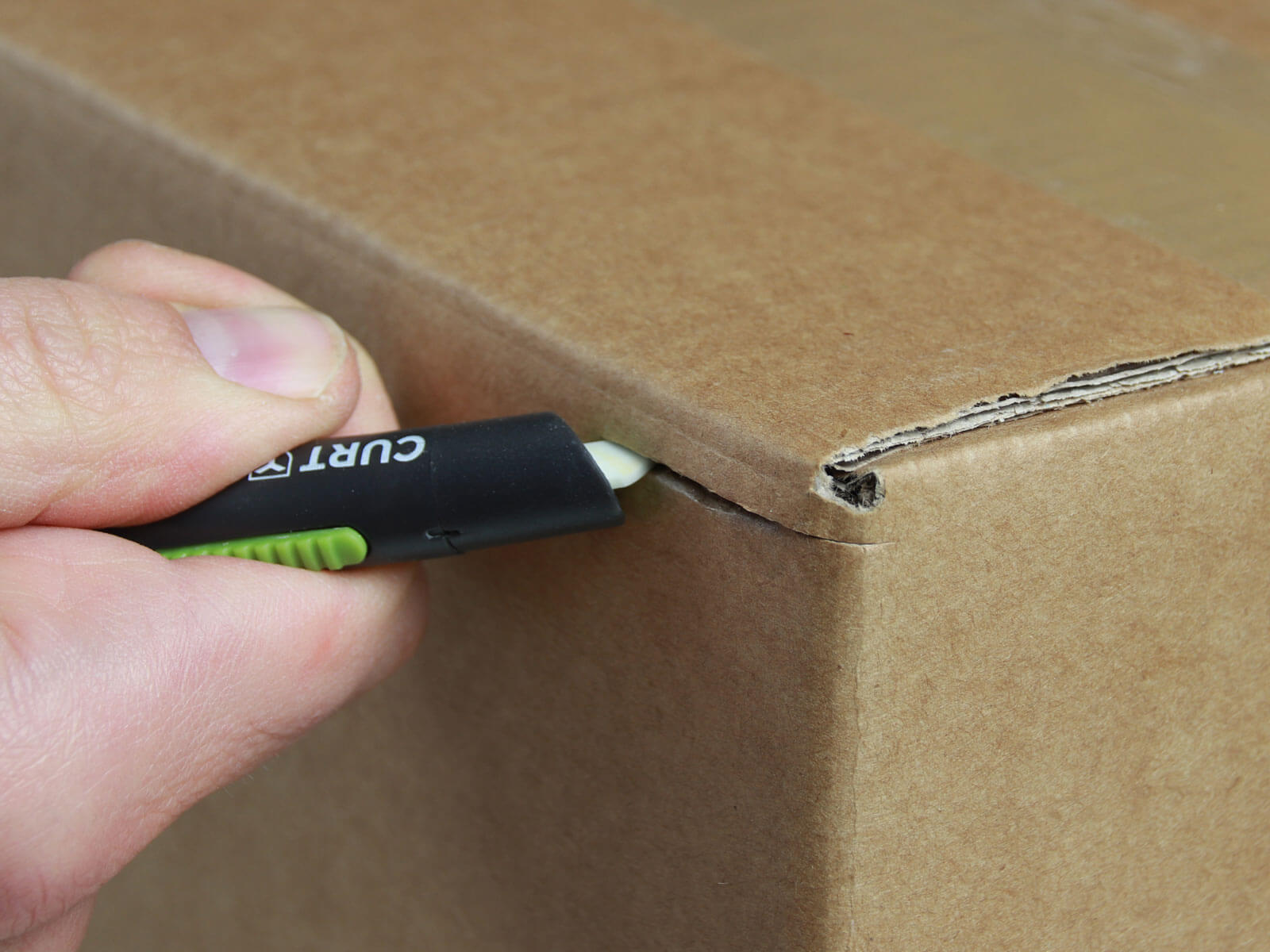 U008K Keramik Sicherheitsmesser automatischer Klingenrückzug mini Karton schneiden abdeckeln CURT-tools
