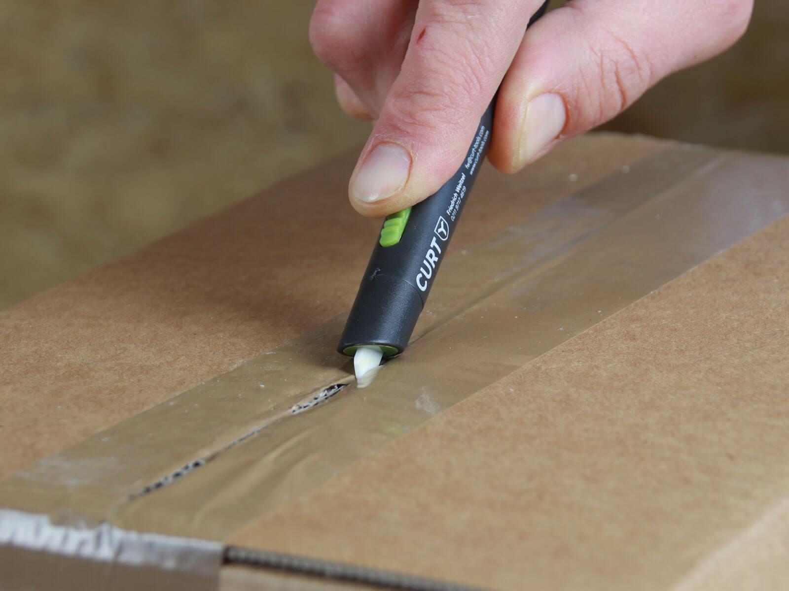 U008K Keramik Sicherheitsmesser automatischer Klingenrückzug mini Klebeband schneiden CURT-tools