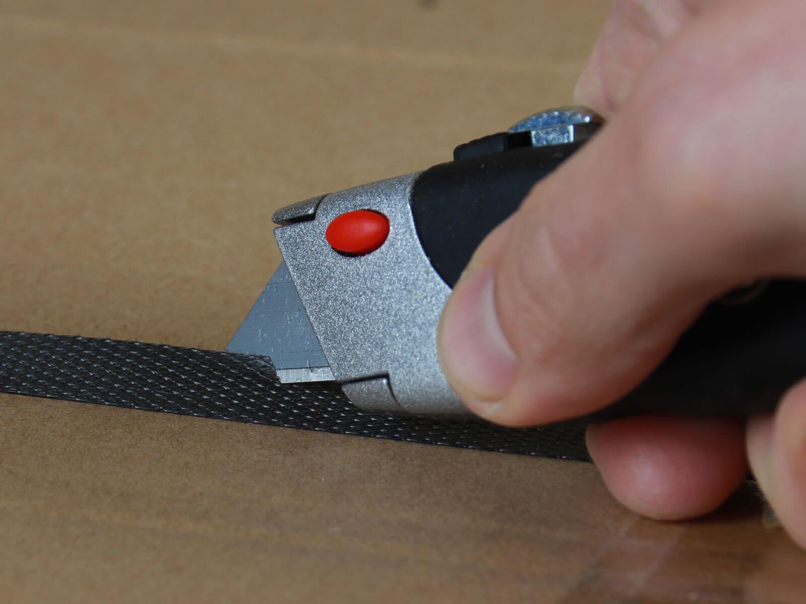 U012 Cuttermesser manueller Klingenrückzug Umreifungsband schneiden CURT-tools