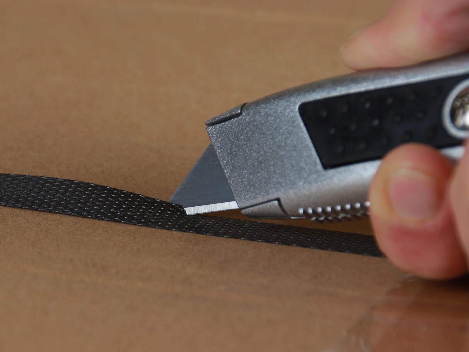 U014 Sicherheitsmesser automatischer Klingenrückzug Umreifungsband schneiden CURT-tools