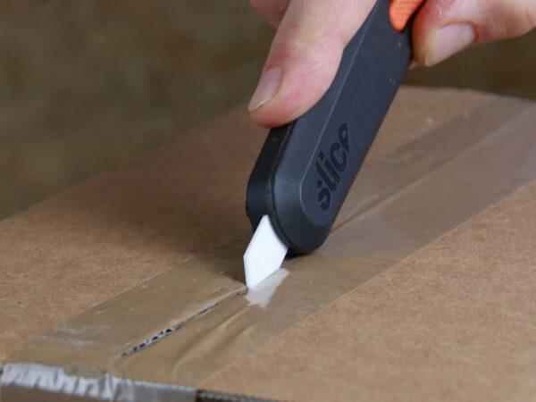 U10550 Keramik Sicherheitsmesser automatischer Klingenrückzug Klebeband schneiden CURT-tools