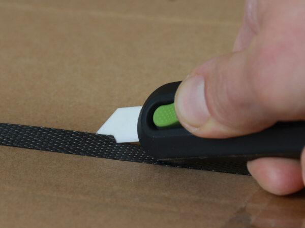 U10554 Keramik Sicherheitsmesser automatischer Klingenrückzug Umreifungsband schneiden CURT-tools