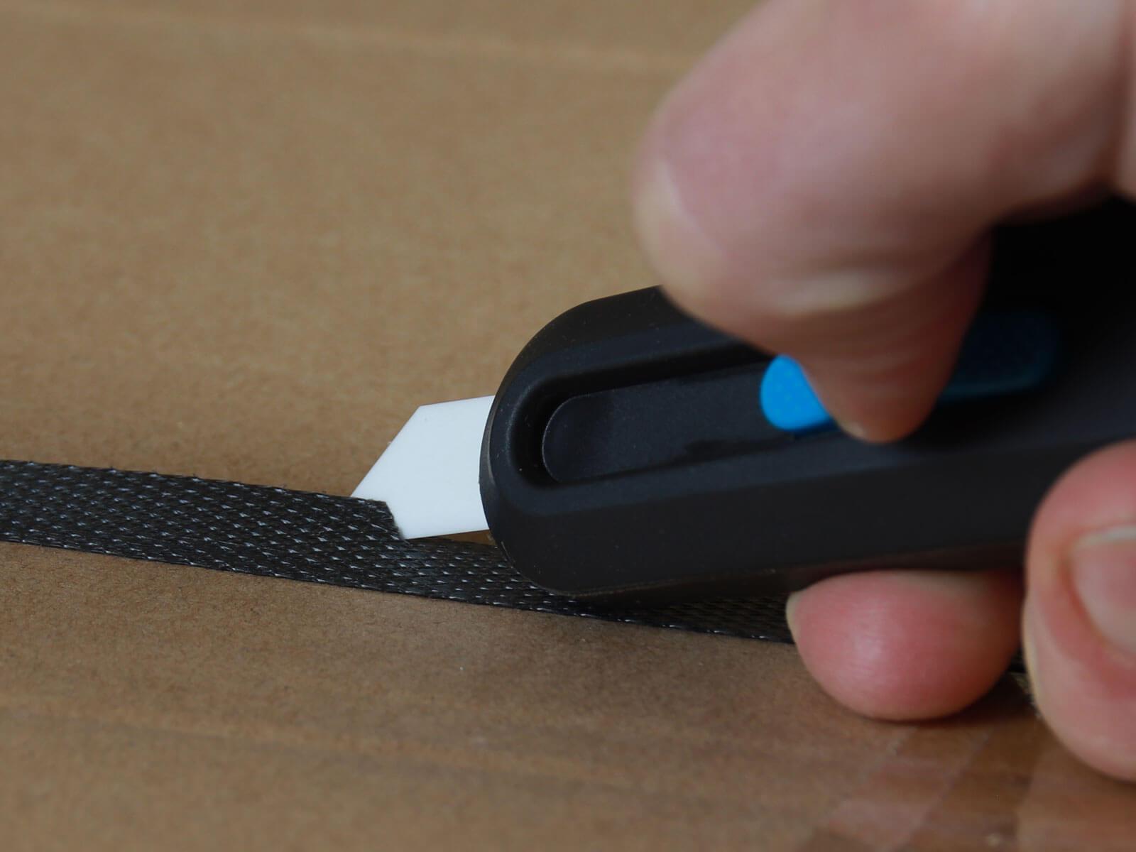 U10558K Keramik Sicherheitsmesser vollautomatischer Klingenrückzug Umreifungsband schneiden CURT-tools