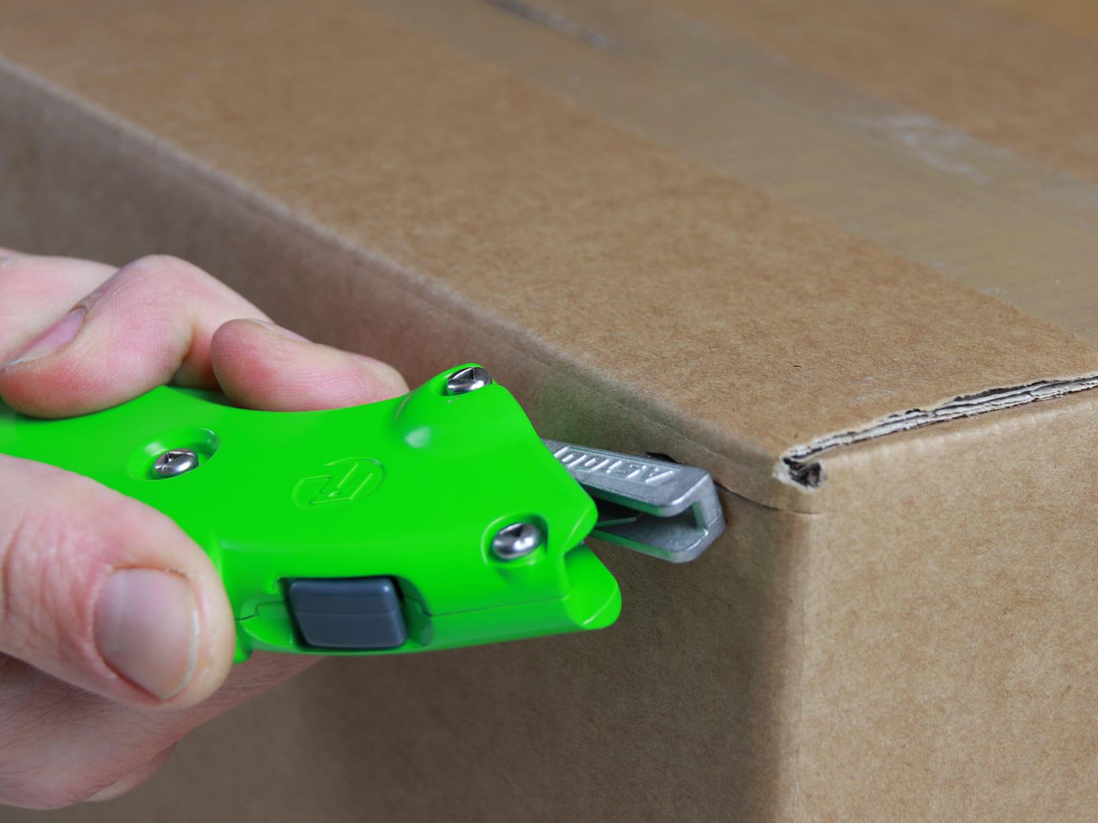 UAS100 Sicherheitsmesser vollautomatischer Klingenschutz Karton schneiden abdeckeln CURT-tools