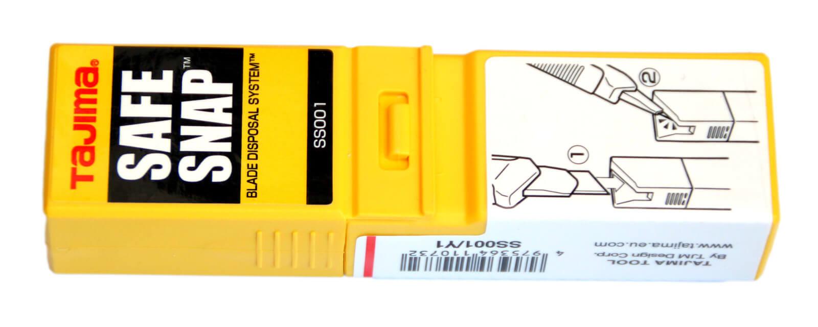 Z002-Klingenbox-für-verbrauchte-stumpfe-Klingen-mit-Abbrechhilfe-Safe-Snap-widerverwendbar-CURT-tools