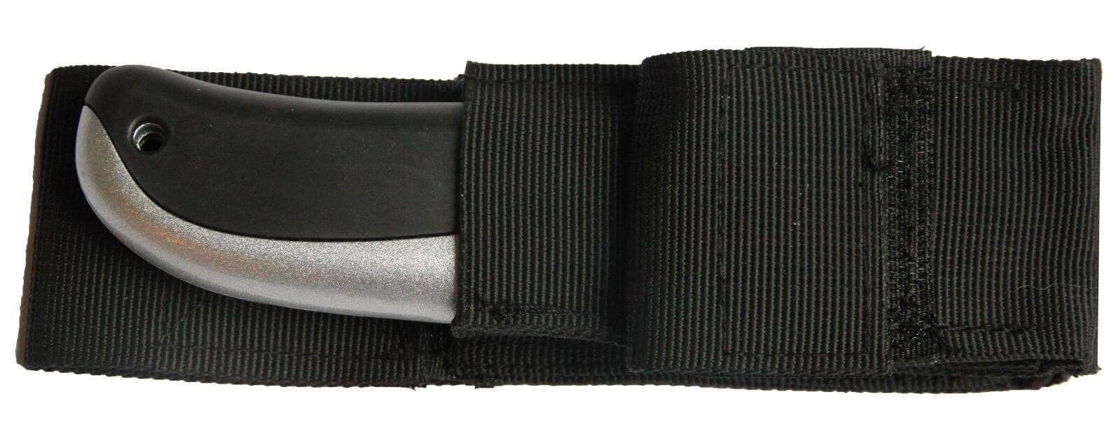 Z005-Gürteltasche-Holster-Universalmessertasche-aus-Nylon-hier-mit-Sicherheitsmesser-extra-sicher-U004-CURt-tools