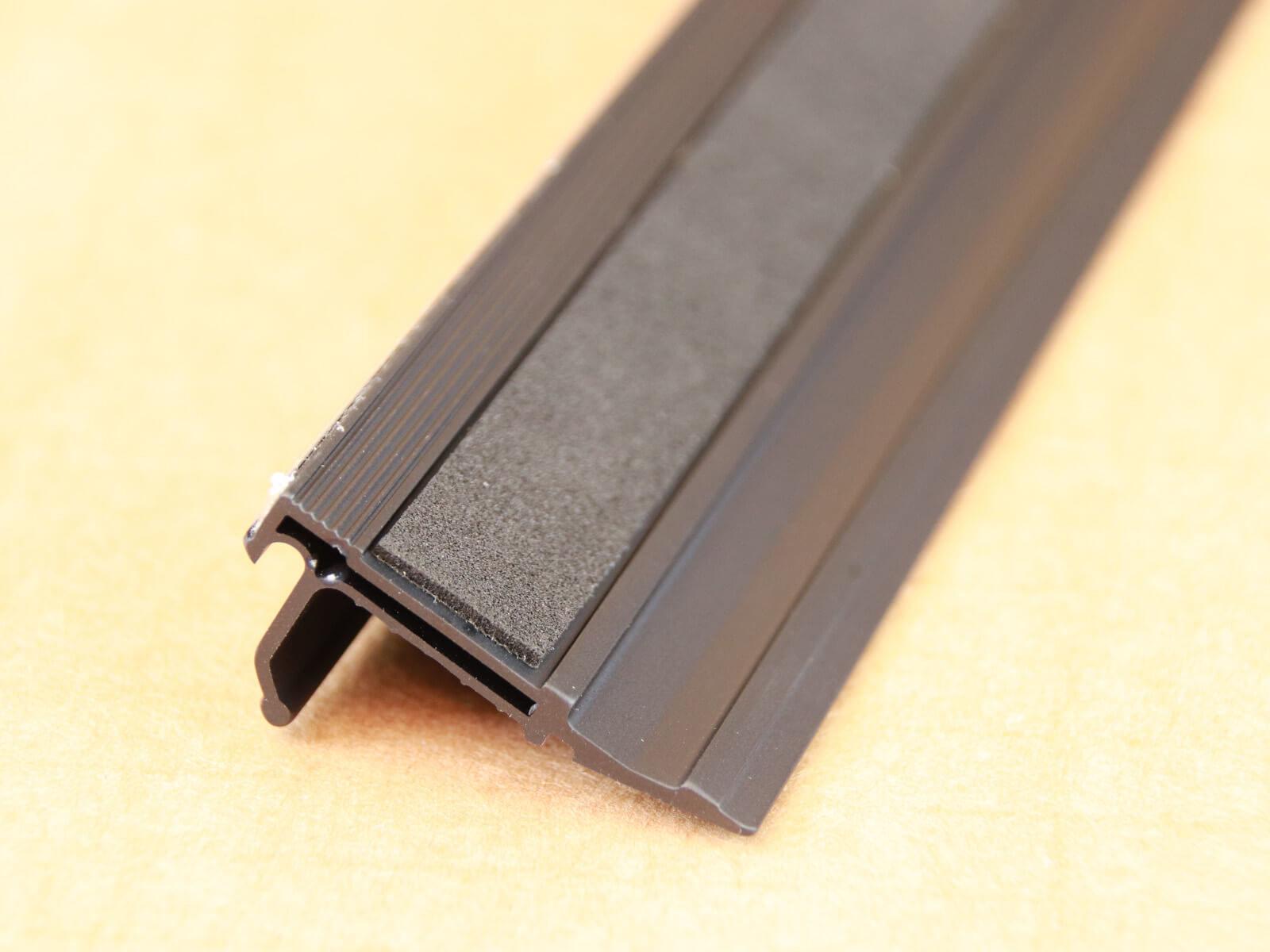 Z001 Schneidelineal Sicherheitslineal Anlegelineal mit Stahllkante 60cm Soft-Gip Unterseite CURT-tools