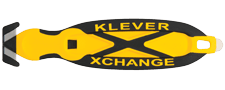 Foto Sicherheitsmesser Klever Xchange mit Schutzhaken zum Schutz vor Schnittverletzungen maximale Sicherheit