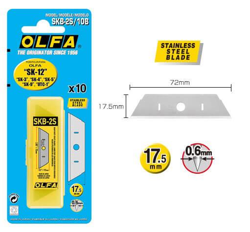 K022-Cuttermesser-Klinge-rostfrei-für-OLFA-SK-12-SKB-2S-Maße-Verpackung–CURT-tools_max
