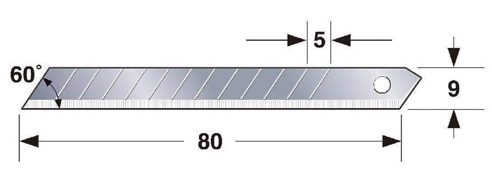 K061-Cuttermesser-Klinge-9mm-Tajima-LCB-30-Abmessungen-CURT-tools_1600
