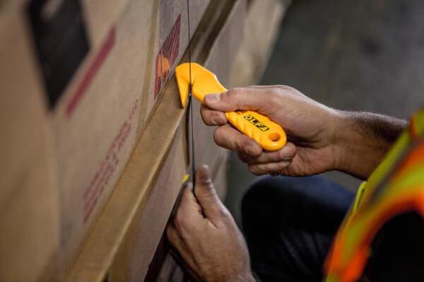 H041 Sicherheitmesser Folienschneider Schutzhaken OLFA SK10 Umreifungsband schneiden CURT-tools