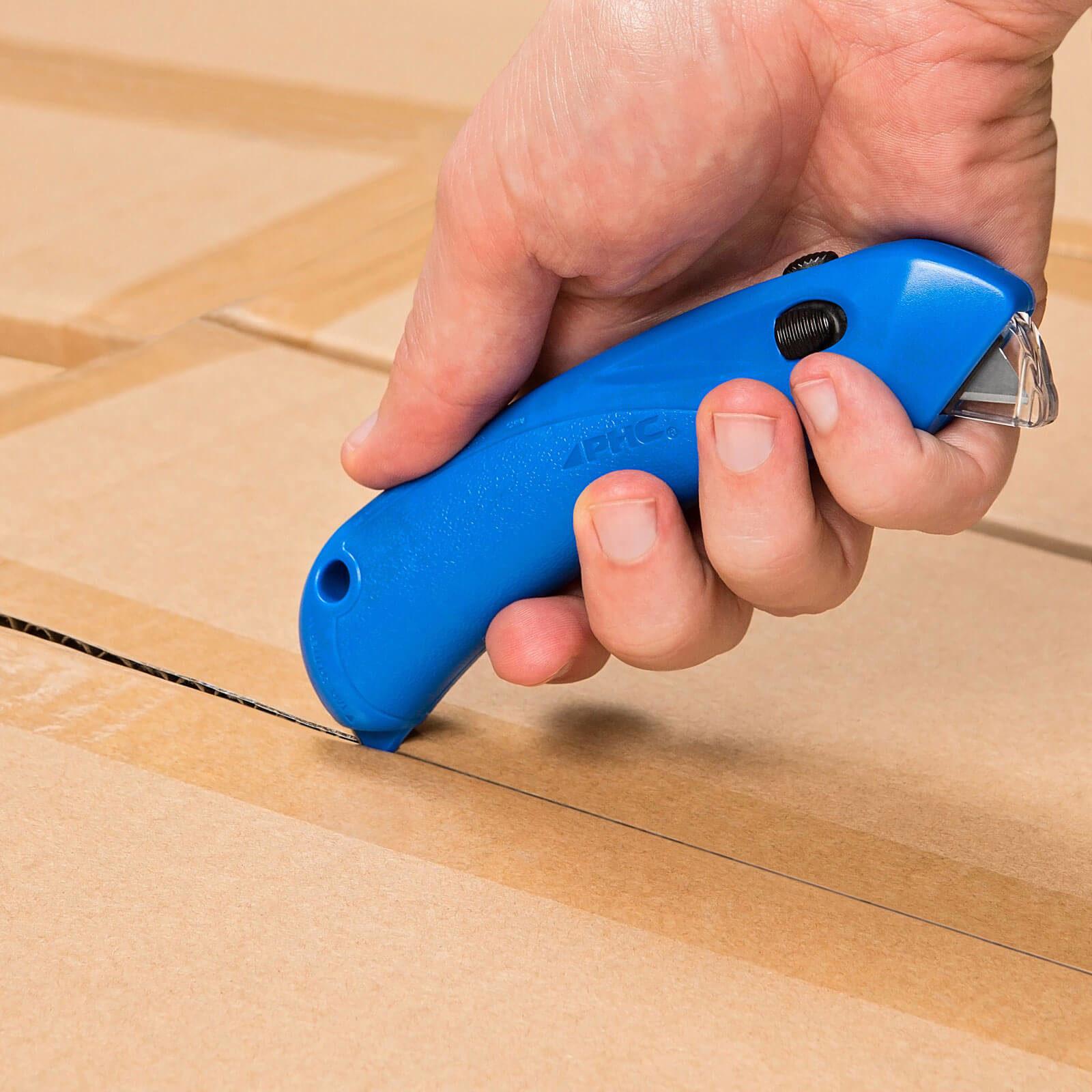 U031-Sicherheitsmesser-extra-sicher-Basic-Hood-einweg-PHC-RSC-432-Blau-Klebebandritzer-CURT-tools_1600