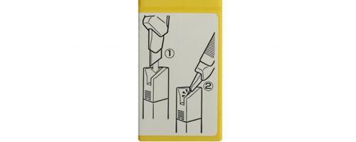 Z002-Klingenbox-für-verbrauchte-stumpfe-Klingen-mit-Abbrechhilfe-Safe-Snap-widerverwendbar-Hinweist-CURT-tools_500
