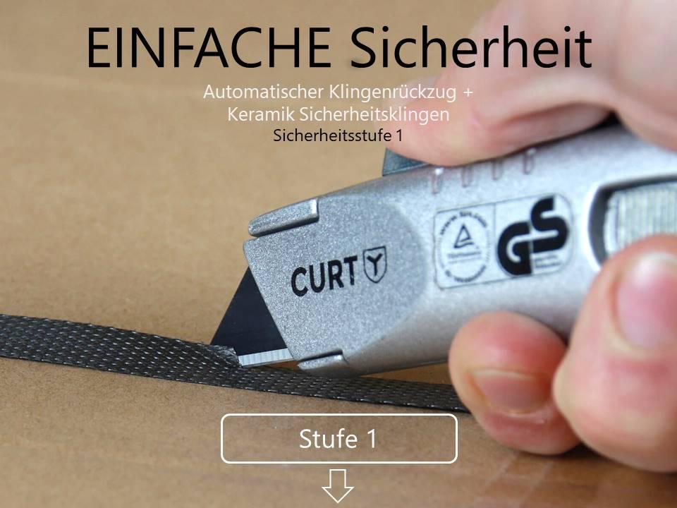 Sicherheitsmesser Sticherheitsstufe 1 CURT-tools