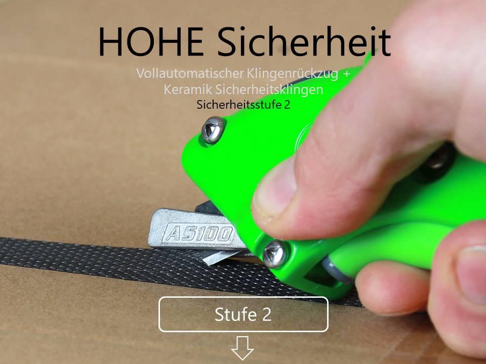 Sicherheitsmesser Sticherheitsstufe 2 CURT-tools