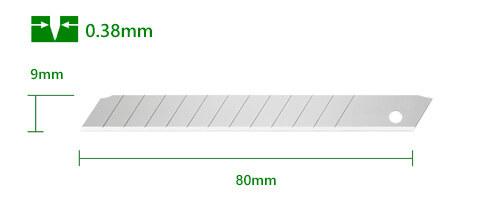 K061-9mm-Cuttermesser-Klinge-Abbrechklinge_Carbon-Stahl-CURT-tools_500