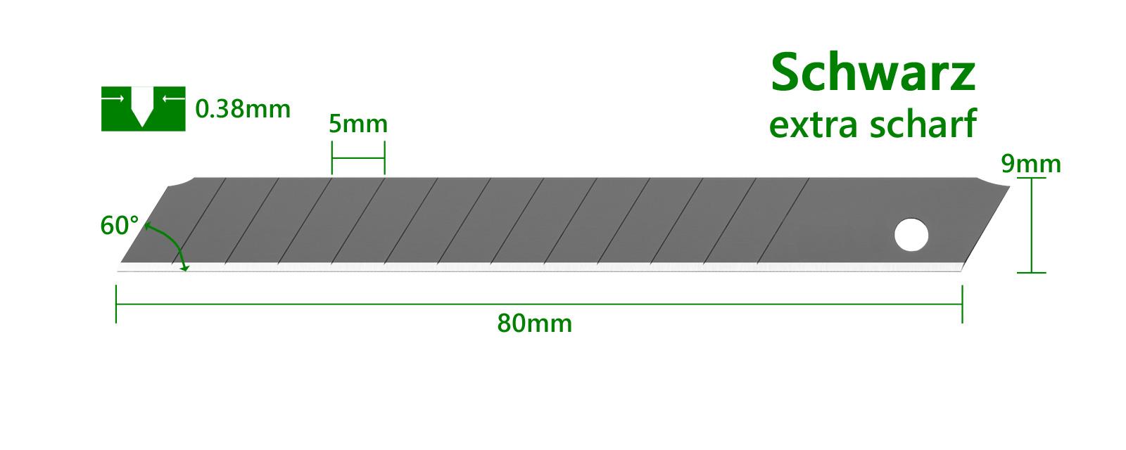 K066-9mm-Cuttermesser-Klinge-schwarz-Tajima-LCB30-Maße-CURT-tools_1600
