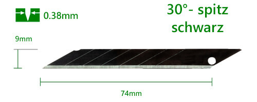 K067-9mm-Cuttermesser-Klinge-Abbrechklinge_30-Grad-spitz-schwarz-extra-scharf-CURT-tools